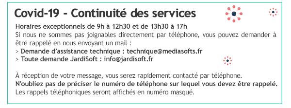 Covid-19 - Continuité des services