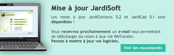 Mise à jour JardiSoft
