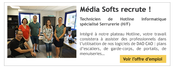 Média Softs recrute